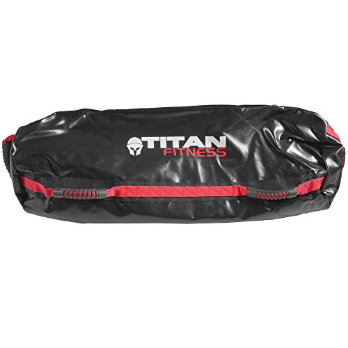 d871ded1ed3f Titan Fitness 80 lb Heavy Duty Workout Weight Sandbag Exercise Training Bag