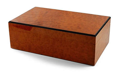 - MusicBoxAttic Contemporary Burr Madrona Classic Style 3 Part 72 Note Reuge Music Box - Swiss September-AM Flusse (Das Jahr)/Allegro Non Troppo/In Meines Vaters Garten
