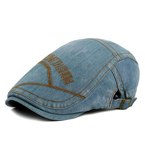 de de Vaquero Lengua Bailey D GLLH lavó hat Sombrero de el Sombreros Las La Libre la Moda señoras se Delantero C qin Viejo del Sombrero de Pato al Aire Sombrero FqZwzFn4