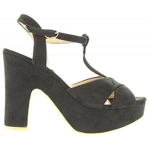 Sandali per Donna REFRESH 63603 ANTELINA NEGRO