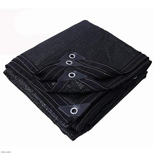 パーティー深める層LIXIONG オーニングシェード遮光ネット シェーディング通気性のある滑らかな折り畳み式多目的フラワープロテクションネットメタルホール付ポリエチレンスケーラブルなコントロール (色 : 黒, サイズ さいず : 2x3m)