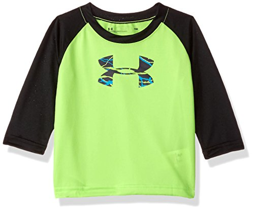 Under Armour Baby Boys Voltage Big Logo Raglan, Quirky Lime, 18M