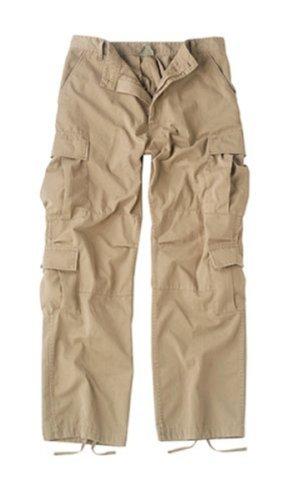 Army Universe Khaki Vintage Paratrooper Fatigues (Large)