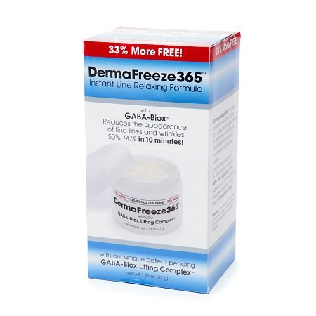 DermaFreeze365 Instant Line Relaxing Formula with GABA-Biox - 3PC by