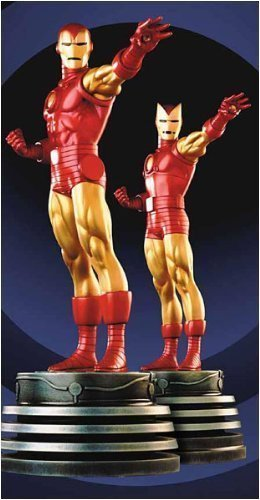 Iron Man (2-Pack) Mini Statues by Bowen Designs!