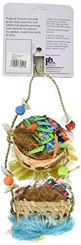 Prevue Pet Products 62512 Tropical Teasers Sky Rider Bird Toy