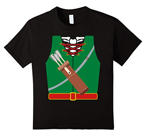 Target Skeleton Costume (Kids Halloween Archer Skeleton Costume T-shirt Funny Arrows 6)