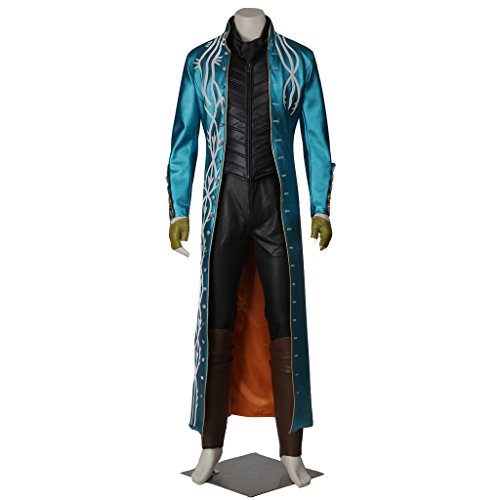 [CosplayDiy Men's Costume for Devil May Cry 3: Dante's Awakening Vergil XXL] (Devil May Cry 3 Costumes)