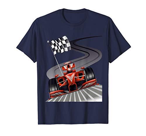 Formula Car T-shirt for Racing fan