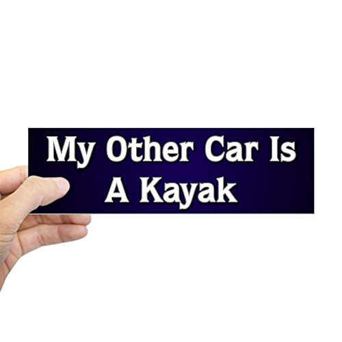 Whitewater Kayak Magnet (CafePress - My Other Car Is A Kayak Bumper Sticker - 10