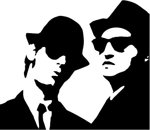 Blues Brothers Rock Band Vinyl Decal Sticker- 6