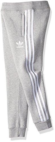 white Adidas Boys' Little Heather Medium Grey Originals S Pants Trefoil TTAHwx