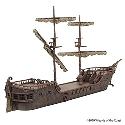 D&D Icons of The Realms: The Falling Star Sailing Ship!: Toys & Games