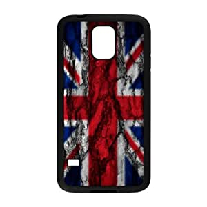 TXVNcase DIY Hard Back Durable Cover Case for SamSung Galaxy S5 I9600 (British Flag)