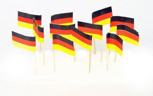 Germany   German Flag Toothpicks - Picks German Flag