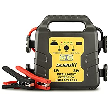 suaoki g19 1000a peak 12 24v vehicle jump starter battery booster power pack all. Black Bedroom Furniture Sets. Home Design Ideas