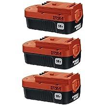 Black & Decker HPB18-OPE (3 Pack) 18v 18 volt NiCad single source battery New