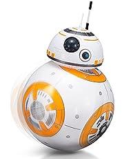 2.4g Fjärrkontroll Robot Intelligent Star Wars Uppgradering Rc Bb8 Robot Med Musik Ljud Action Figur Presentleksaker Boll Bb-8 För Barn, Force Awakens Star Wars Minifigur
