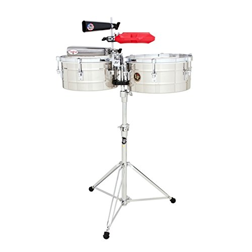 LP256-S Tito Puente Timbales 13'' & 14'' Shells/Stainless by Latin Percussion