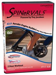 Spinervals Competition Series 43.0: Aerobic Engine Builder!, featuring Team TriSports DVD