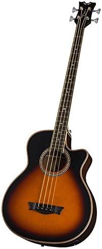 B06WWN4192 Dean Exotica Supreme Cutaway Acoustic-Electric Bass, Tobacco Sunburst 41WzZRCmyAL