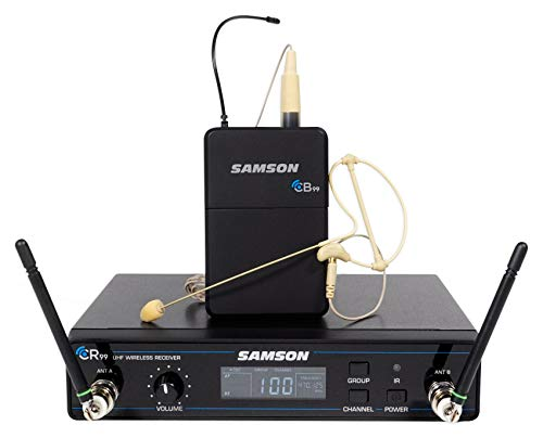 SAMSON Concert 99 Wireless Earset Microphone D-Band For Church Sound Systems
