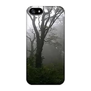 Excellent Design Dark Misty Woods Phone Case For Iphone 5/5s Premium Tpu Case