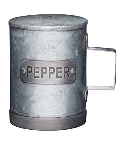 KitchenCraft - Pepe in acciaio galvanizzato, stile vintage, 10 cm 1