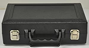 Wingsmarketshop Black Leather Universal Oboe Case Reed Holder Case Made in the USA & Work Test