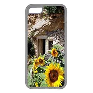 Iphone 5c Case,Rubber Iphone 5c Protective Case for Ultimate Protect iphone 5c with a cave home in Palestine