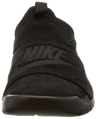Nike BENASSI SLP Mens fashion-sneakers 882410-003_9.5 - BLACK/BLACK-BLACK by NIKE (Image #4)