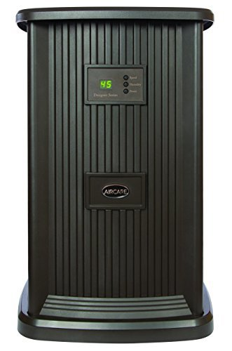 Large Product Image of AIRCARE EP9 800 Digital Whole-House Pedestal-Style Evaporative Humidifier, Espresso