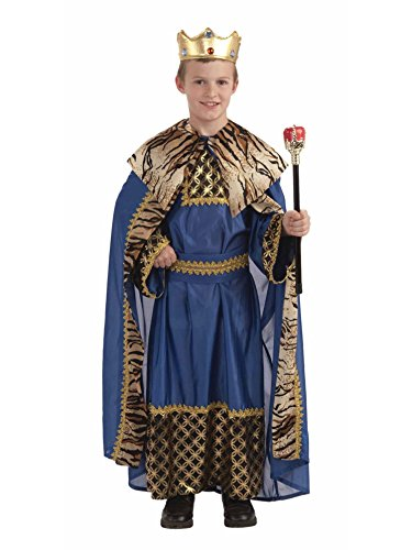 Biblical King of the Kingdom Child Costume Size 8-10 Medium -