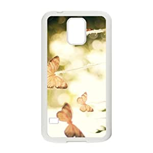 The Beautigul Butterfly Hight Quality Plastic Case for Samsung Galaxy S5