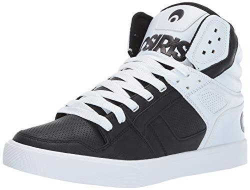 - Osiris Men's Clone Skate Shoe, Black/White/dip, 11 M US