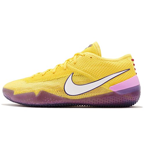 Nike Men's Kobe AD NXT 360, Yellow Strike/White, 11.5 M US
