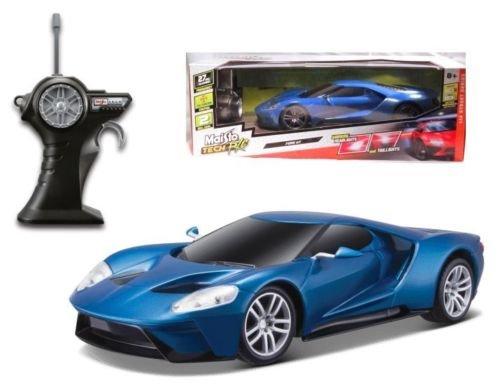 new-114-w-b-maisto-rc-radio-control-street-series-blue-2017-ford-gt-hybrid-licensed-by-maisto