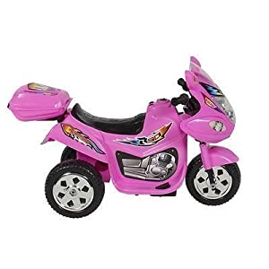 Kids-Ride-on-Motorcycle-6v-Toy-Battery-Powered-Electric-3-Wheel-Power-Bicycle