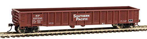 53' Corrugated-Side Gondola - Ready To Run -- Southern Pacific(TM) #337585 (Boxcar Red) ()