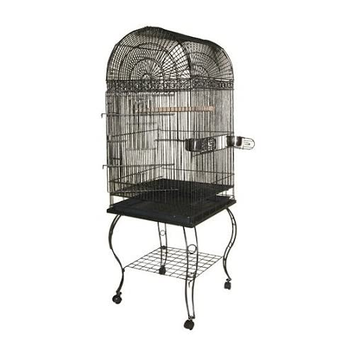 Image of A&E Cage 600A White Economy Dome Top Bird Cage, 20' x 20' Pet Supplies