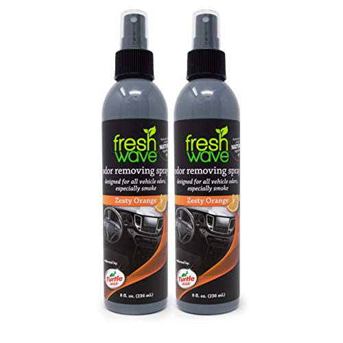 Fresh Wave Zesty Orange Odor Removing Vehicle Spray, 8 oz. (Pack of 2)