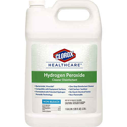 Clorox Healthcare Hydrogen Peroxide Cleaner Disinfectant Refill, 128 Ounces ()