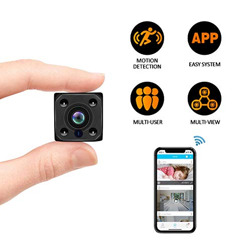 Mini Spy Hidden Camera, Wireless Hidden Camera Portable Dice HD1080P Video USB DVR Recording