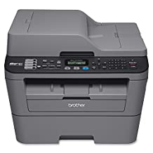Brother MFC-L2700DW Monochrome Laser All-In One Printer with Wireless Networking and Duplex Printing