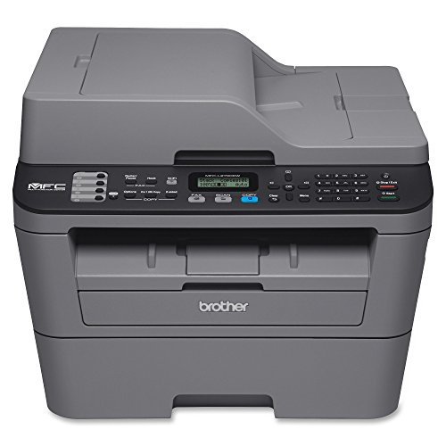 Brother MFCL2700DW All-In One Laser Printer with Wireless Networking and Duplex Printing,...
