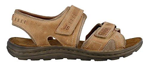 Josef Seibel Mens Raul 19 Kjole Sandal Creme / Biber