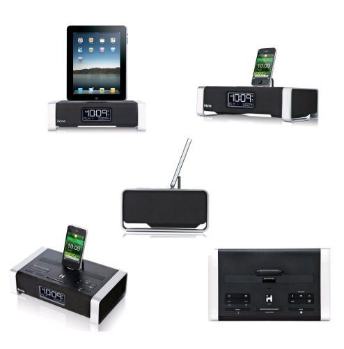 iHome iA100ZC App Enhanced Bluetooth iPhone product image