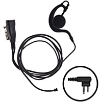 IMPACT 1-Wire Over the Ear Surveillance Earpiece for Motorola 2-Pin Radios (M1-S1W-EH3)