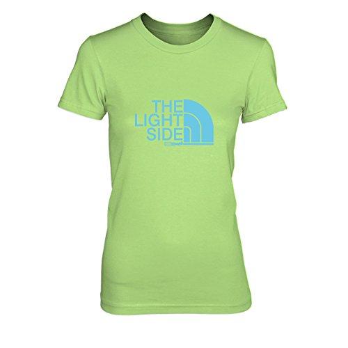 The Light Side - Damen T-Shirt, Größe: XL, Farbe: hellgrün