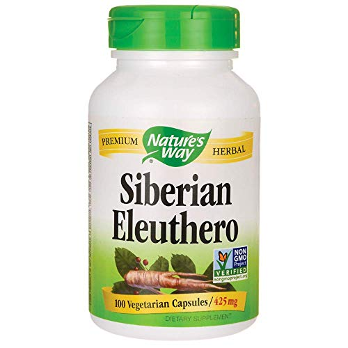 Natures Way Eleuthero Root, 100 CT